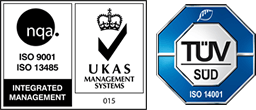 ISO9001 / ISO13485 / TUV